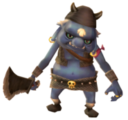 Skyward Sword Bokoblin Blue Bokoblin (Render)