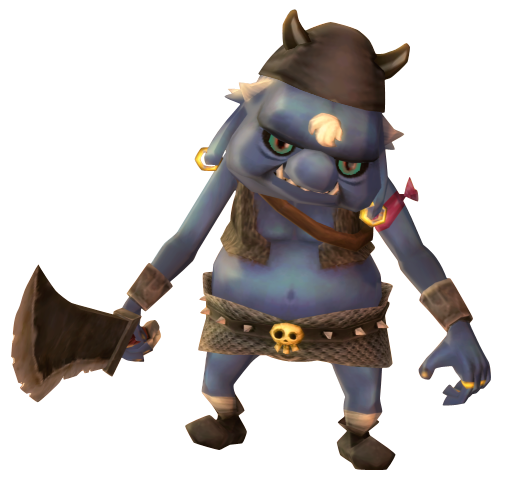 File:Skyward Sword Bokoblin Blue Bokoblin (Render).png