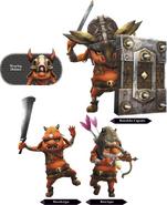 Hyrule Warriors Enemy Units Bokoblin (Render)