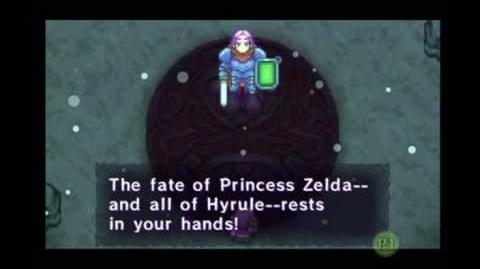 Base Creature of Magic Purple Knight (Four Swords Adventures)
