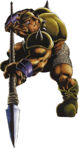 File:Spear Moblin (Ocarina of Time).png