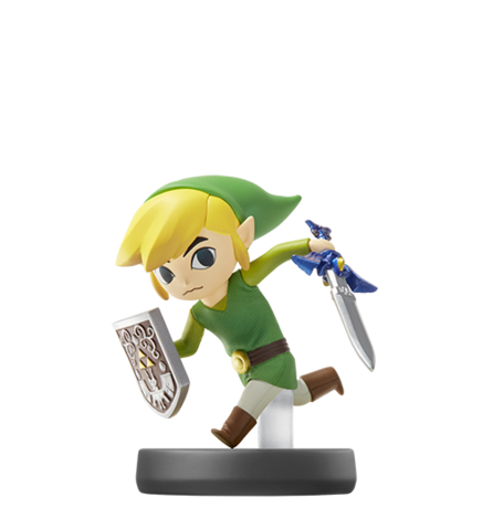 File:Toon Link Amiibo.png