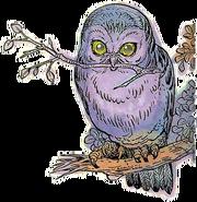Owl Artwork 6 (Link's Awakening)