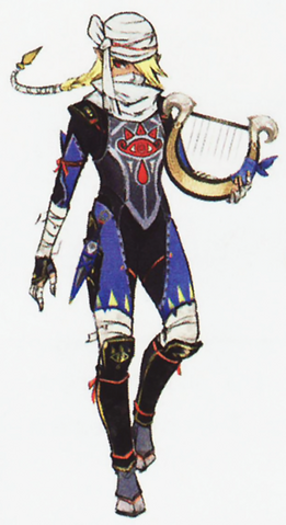 File:Hyrule Warriors Artwork Sheik (Concept Art).png