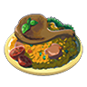 Breath of the Wild Food Dish (Pilaf) Gourmet Poultry Pilaf (Icon).png
