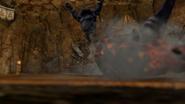 Hyrule Warriors Darunia (Darmani Recolor) Igneous Hammer (Victory Cutscene)