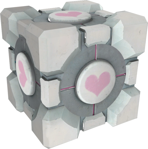 File:Weighted Companion Cube.png