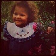 Zendaya as a Baby2