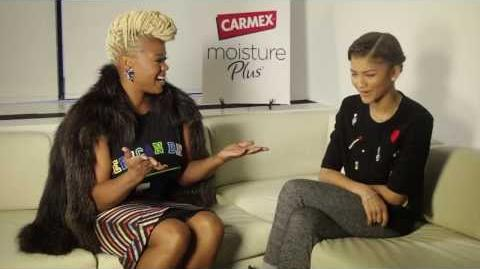Fashion Bomb TV Talking Beauty and Style with Zendaya