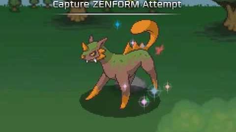 Capturing a ZENFORM