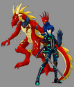 Shizuka Hattori and Azreal
