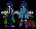 Oc shizuka hattori color by zephyros phoenix-d3asf2y
