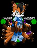 Sonic chara ren the fox by zephyros phoenix-d4q3i7m