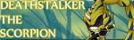 Deathstalker the scorpion signature by zacnichols123-d4ze11e