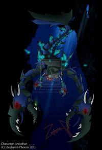 Leviathan deep sea guardian by zephyros phoenix-d3eqhgr