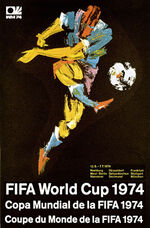 1974 Football World Cup poster