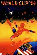 1994 Football World Cup poster