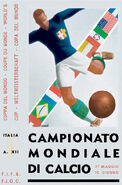 1934 Football World Cup poster