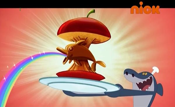 File:Zig & Sharko - Zig Top Chef - Sharko with Food.PNG