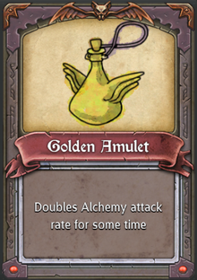 Golden Amulet
