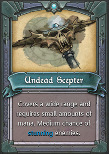 Undead Scepter