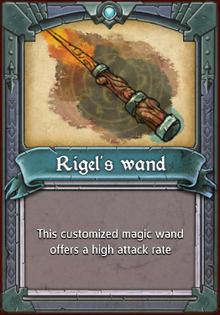 Rigel's Wand