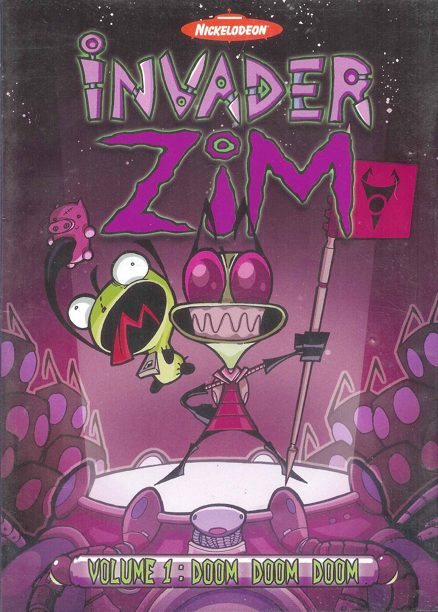 DVDs | Invader ZIM Wiki | FANDOM powered by Wikia Invader Zim Characters