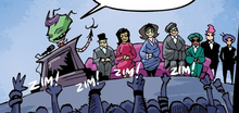 Zim actually taking over the earth