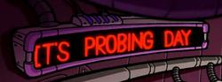 IZ probing day