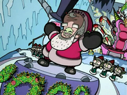 Zim as Santa