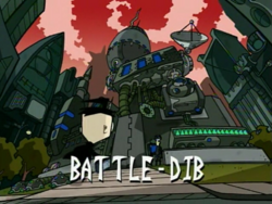 Title Card - Battle-Dib