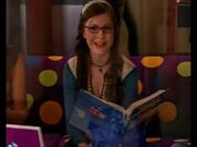 Quinn smiles at Logan as she tells him he needs good extra-curricular stuff.
