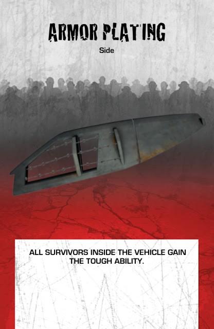 Vehicle Equipment Side Armor Plating