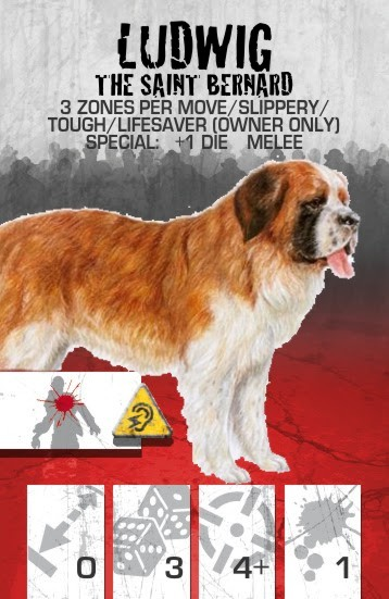 Dog Companion Saint Bernard