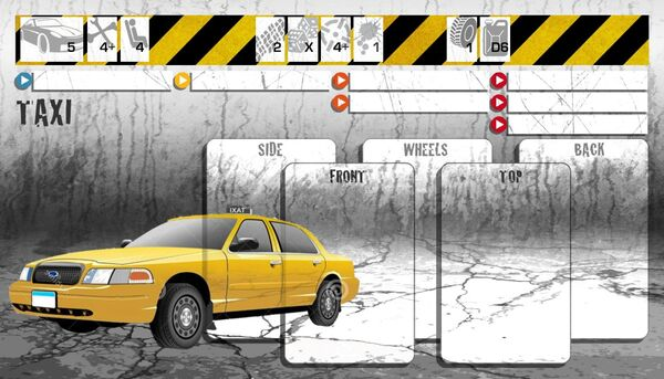 Dashboard Taxi