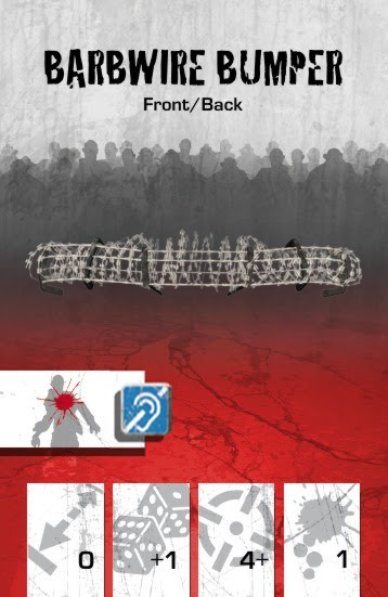 Vehicle Equipment Front Barbwire Bumper