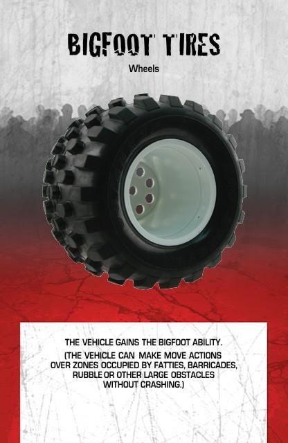 Vehicle Equipment Wheels Bigfoot Tires