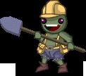 Death Volcano EnemieYellow