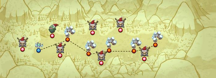 Xmas map