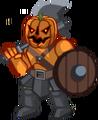 Halloween Pumpkin Warrior2