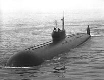 Papa class submarine 2