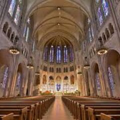 The Interior of most Churches
