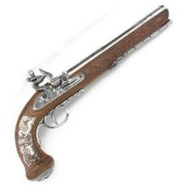 Flintlock Black Powder Pistol