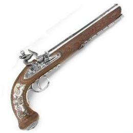 File:Flintlock Black Powder Pistol.jpg