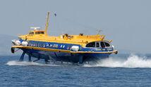 Hydrofoil near Piraeus