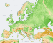 220px-Europe topography map en