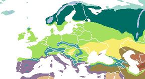 Vegetation Europe