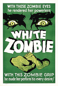 Poster - White Zombie 01 Crisco restoration