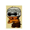 Robo Zombie Orange