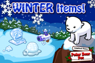 Winter Items Loading Screen